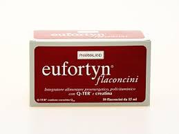 EUFORTYN FLACONCINI INTEGRATORE ALIMENTARE POLIVITAMINICO - 10 FLACONCINI DA 15 ML