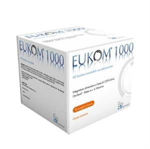 EUKOM 1000 - INTEGRATORE ALIMENTARE - 30 BUSTINE OROSOLUBILI