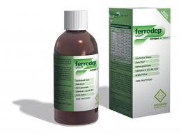 FERRODEP LIGHT SCIROPPO INTEGRATORE ALIMENTARE DI FERRO - 150 ML