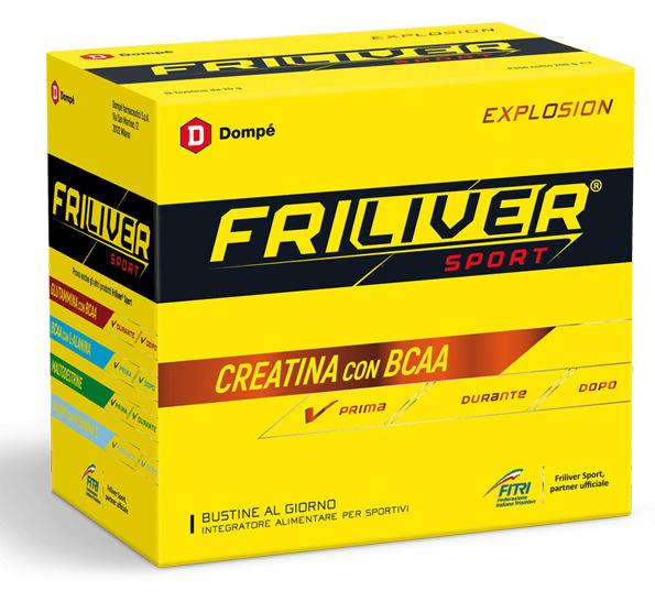 FRILIVER SPORT EXPLOSION CREATINA BCAA 12 BUSTINE