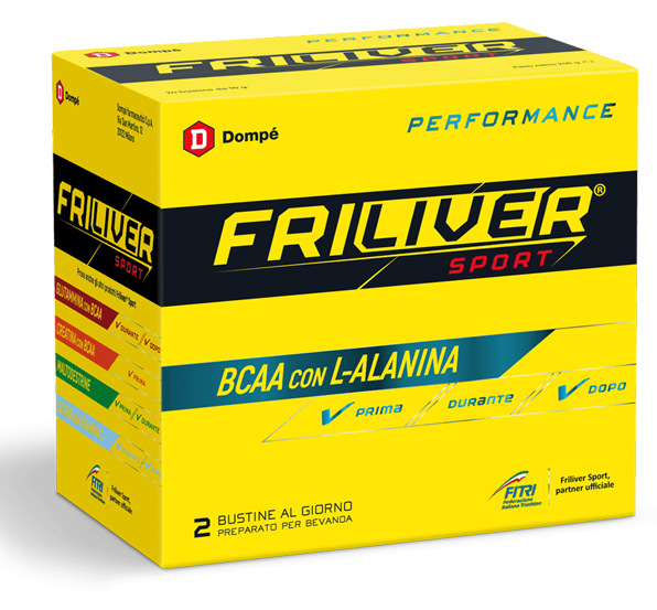 FRILIVER SPORT PERFORMANCE BCAA 24 BUSTE