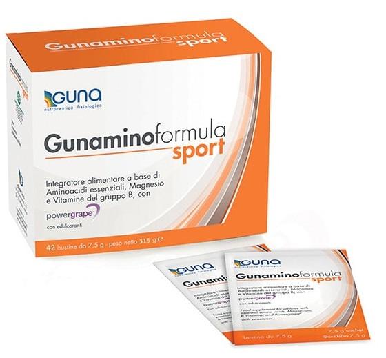 GUNAMINO FORMULA SPORT 42 BUSTE