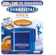 HERMESETAS GOLD DOLCIFICANTE - 400 COMPRESSE