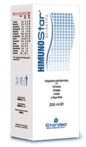 HIMUNOSTAR SCIROPPO INTEGRATORE ALIMENTARE POLIVITAMINICO - 200 ML