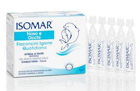 ISOMAR NASO E OCCHI 24 FLACONCINI MONODOSE DA 5 ML