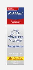 KUKIDENT COMPLETE ANTIBATTERICO 47g