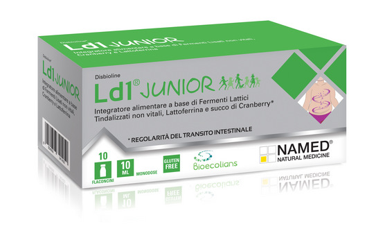 LD1 JUNIOR - INTEGRATORE DI FERMENTI - 10 FLACONCINI DA 10 ML
