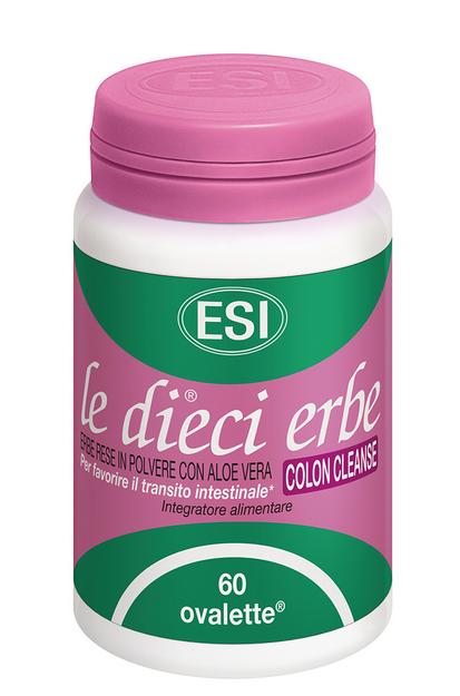 LE DIECI ERBE COLON CLEANSE 60 COMPRESSE