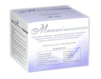 MACRESCES INTEGRATORE ALIMENTARE DIETETICO - 42 BUSTINE DA 8 G
