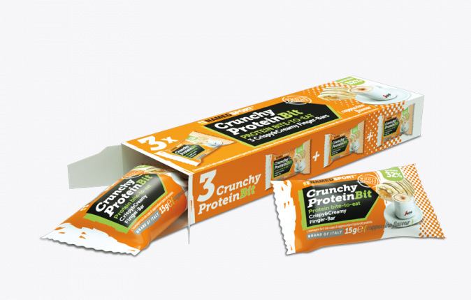 NAMED SPORT CRUNCHY PROTEINBIT CAPPUCCINO