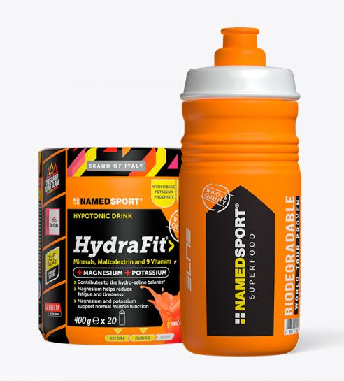NAMED SPORT HYDRAFIT IPOTONIC DRINK 400g + Borraccia omaggio