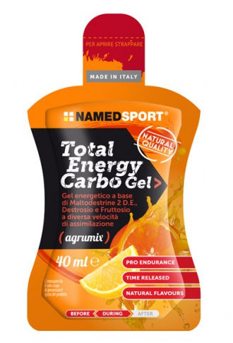 NAMED SPORT TOTAL ENERGY CARBO GEL 5 PACK AGRUMIX