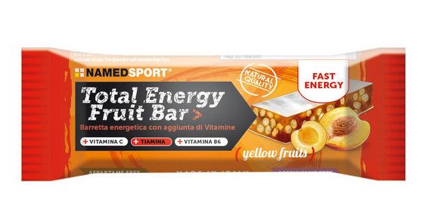 NAMED SPORT TOTAL ENERGY FRUIT BAR YELLOW FRUITS 5 PEZZI