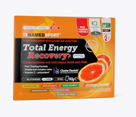 NAMED SPORT TOTAL ENERGY RECOVERY ORANGE 40g