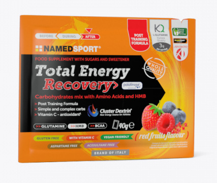 NAMED SPORT TOTAL ENERGY RECOVERY RED FRUITS 40g
