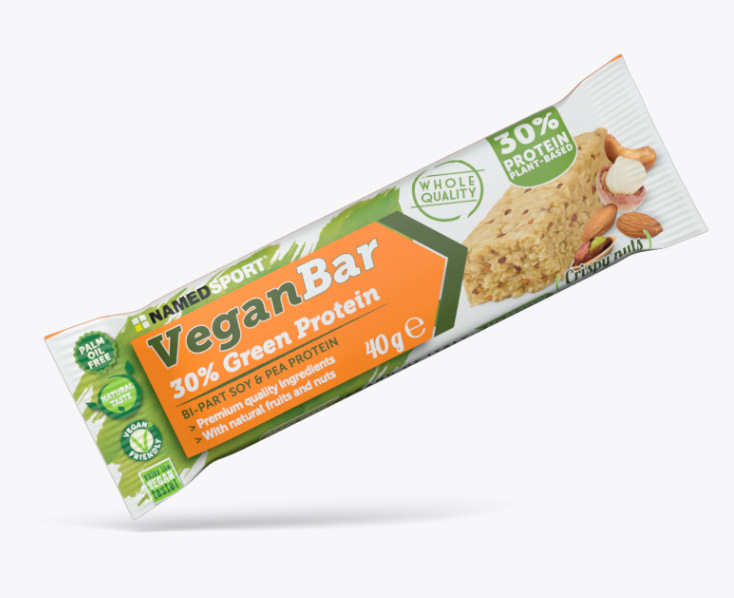 NAMED SPORT VEGAN BAR CRISPY NUTS 40g