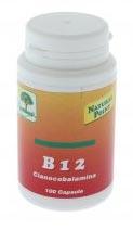 NATURAL POINT B12 500 CIANOCOBALAMINA - 100 CAPSULE