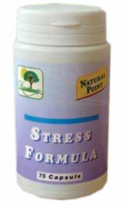 NATURAL POINT STRESS FORMULA INTEGRATORE ALIMENTARE - 75 CAPSULE