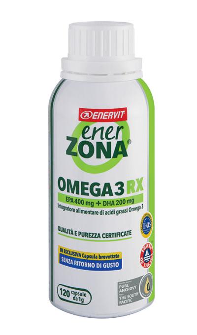 OMEGA 3 RX ENERZONA 120 CAPSULE