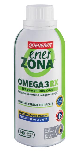 OMEGA 3 RX ENERZONA 240 Cps.per 4 mesi di trattamento