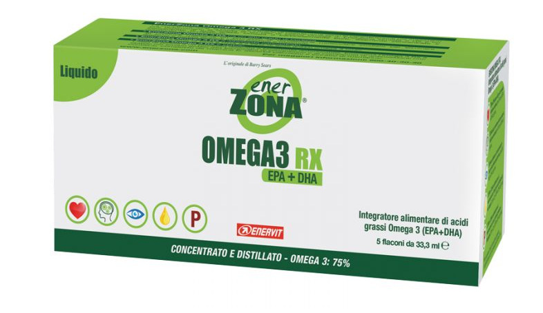 OMEGA 3 RX ENERZONA LIQUIDO 5 FLACONCINI