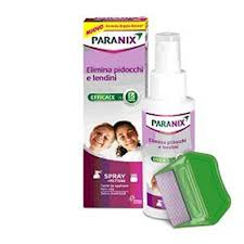 PARANIX SPRAY + PETTINE - 100 ML