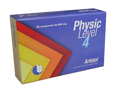 PHYSIC LEVEL 4 ARTIDOL INTEGRATORE ALIMENTARE 30 COMPRESSE