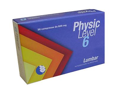 PHYSIC LEVEL 6 LUMBAR INTEGRATORE ALIMENTARE 30 COMPRESSE