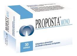 PROPOSTA MONO INTEGRATORE ALIMENTARE DI SERENOA E EPILOBIO - 30 COMPRESSE