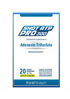 RACER SHOT ATP PRO 20 bustine orosolubili LIMONE