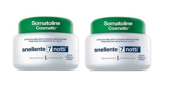 SOMATOLINE COSMETIC SNELLENTE 7 NOTTI OFFERTA 2 CONFEZIONI 400+400ml
