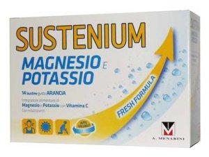 SUSTENIUM MAGNESIO e POTASSIO  14 BUSTINE gusto ARANCIA