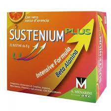 SUSTENIUM PLUS - INTEGRATORE ALIMENTARE - 22 BUSTINE DA 8 G