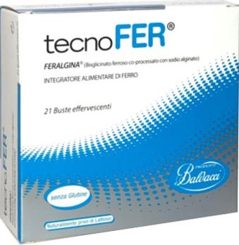 TECNOFER EFFERVESCENTE FERRO 21 BUSTINE
