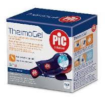 THERMOGEL PIC SOLUTION cuscino riutilizzabile per la terapia caldo freddo fascia elastica regolabile 10X26cm