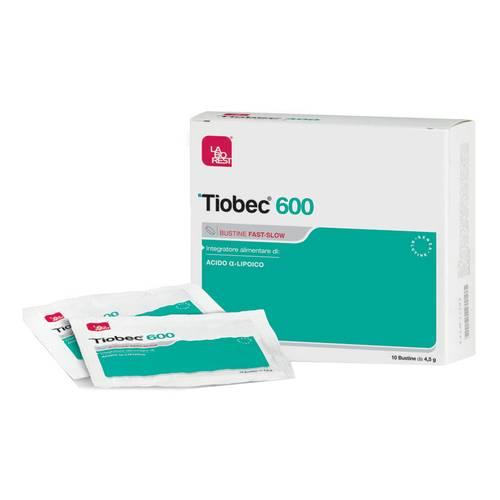 TIOBEC 600 FAST SLOW INTEGRATORE ALIMENTARE DI ACIDO ALFA LIPOICO - 16 BUSTE