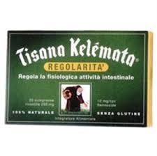 TISANA KELEMATA - INTEGRATORE ALIMENTARE - 20 COMPRESSE DA 200 MG