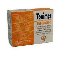 TONIMER HYPERTONIC FLACONCINI MONODOSE 18 da 5ml