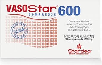 VASOSTAR 600 INTEGRATORE ALIMENTARE  30 COMPRESSE
