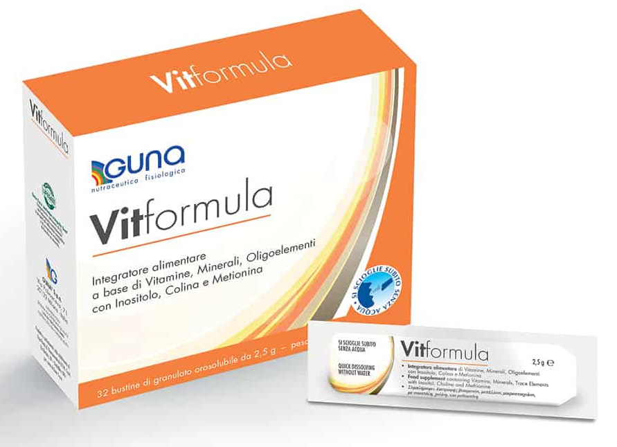 VIT FORMULA INTEGRATORE ALIMENTARE 32 BUSTINE DA 2,5 gr