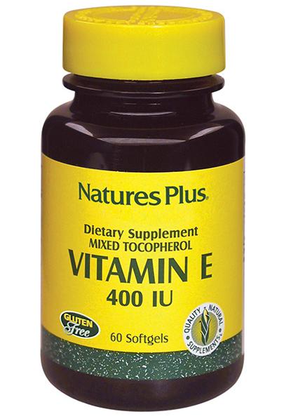 VITAMIN E NATURE'S PLUS 400 IU