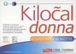 4 Conf.  KILOCAL DONNA 40COMPRESSE GIORNO E NOTTE