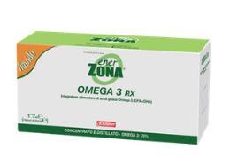 6 OMEGA 3 ENERZONA 5 flaconcini da 33,3 ml DIETA ZONA
