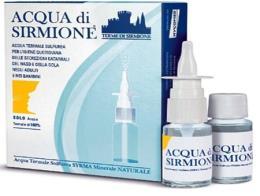 ACQUA DI SIRMIONE Igiene quotidiana naso e gola 6 flaconcini