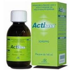 ACTITUSS SCIROPPO PER LA TOSSE SECCA - 140 ML