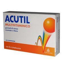 ACUTIL MULTIVITAMINICO INTEGRATORE ALIMENTARE - 30 COMPRESSE