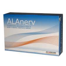 ALANERV INTEGRATORE ALIMENTARE DI ACIDO ALFA LIPOICO - 20 CAPSULE SOFTGEL DA 920 MG