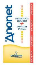 ANONET COFANETTO LIQUIDO DETERGENTE 150ml E 15 SALVIETTE INTIME