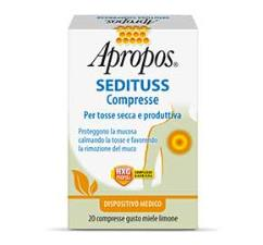 APROPOS SEDITUSS 20 compresse Miele Limone