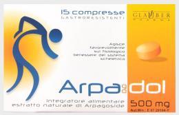 ARPAGODOL Favorisce il fisiologico benessere del sistema scheletrico 15 compresse